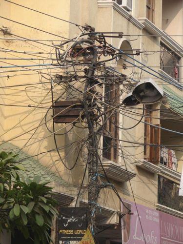 Zdjęcia: Dehli, Słup energetyczny, INDIE