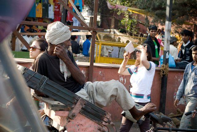 Zdjęcia: Delhi, Delhi, rikschaman, INDIE