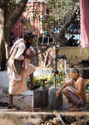 Zdjęcia: Delhi, Delhi, obmycie , INDIE
