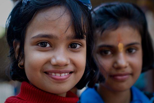 Zdjęcia: Delhi, Delhi, dziewczynki, INDIE