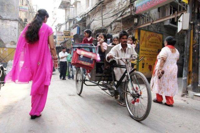 Zdjęcia: Delhi, Rickshaw, INDIE