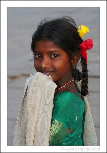 Zdjęcia: Hampi, Karnataka, Dziewczyna z Hampi, INDIE