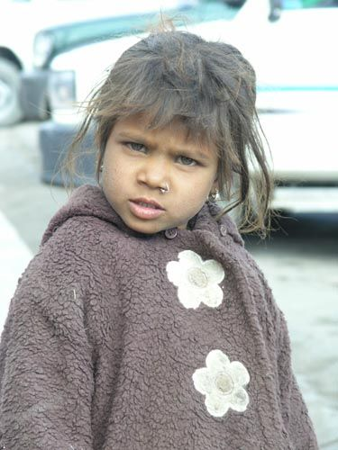 Zdj�cia: Leh, Ladakh, Dziewczynka, INDIE