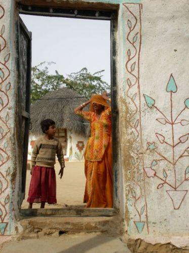 Zdjęcia: Rajastan, Wioska na pustyni, INDIE