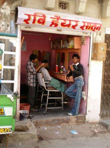 Zdjęcia: Rajastan, U golarza, INDIE