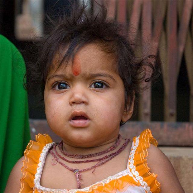 Zdjęcia: Pushkar, Radżastan, Hinduskie dziecko, INDIE