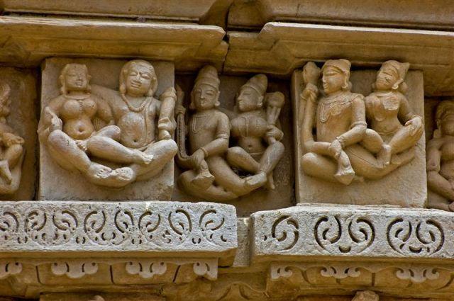 Zdjęcia: Khajuraho, Madhya Pradesh , Lewitujący kochankowie - Khajuraho, INDIE