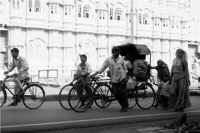 Zdjęcia: Jajphur, Radżastan, Indie inaczej - ulice Jajphuru, INDIE