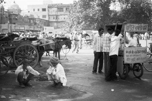 Zdjęcia: Jajphur, Radżastan, Indie inaczej - ulice Jajphuru2, INDIE