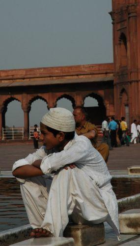 Zdjęcia: Delhi, Zamyślenie , INDIE