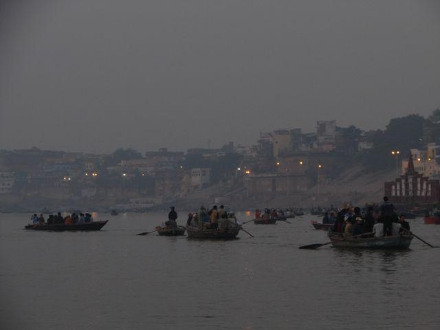Zdjęcia: Varanasi, Ganges w Varanasi II, INDIE
