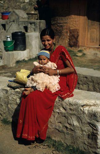 Zdjęcia: Nepal, Matka, INDIE