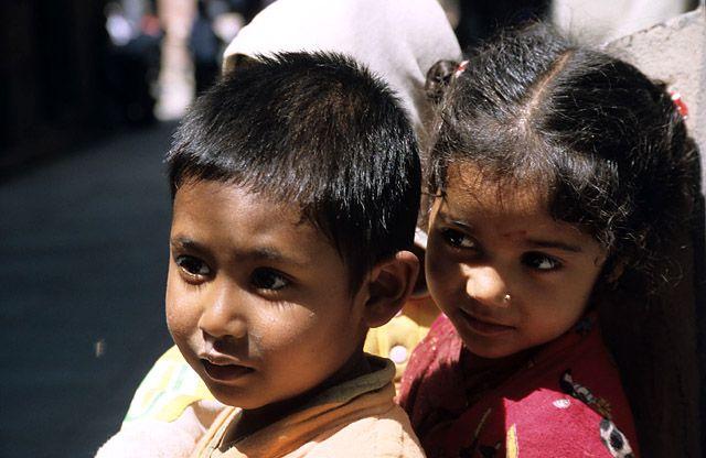 Zdjęcia: Delhi, dzieci Delhi, INDIE