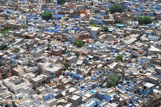 Zdjęcia: jodhpur, rajastan, blue city, INDIE