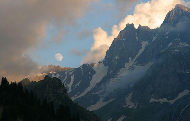 Zdjęcia: Sonamarg, Kashmir, Dolina pod lodowcem, INDIE