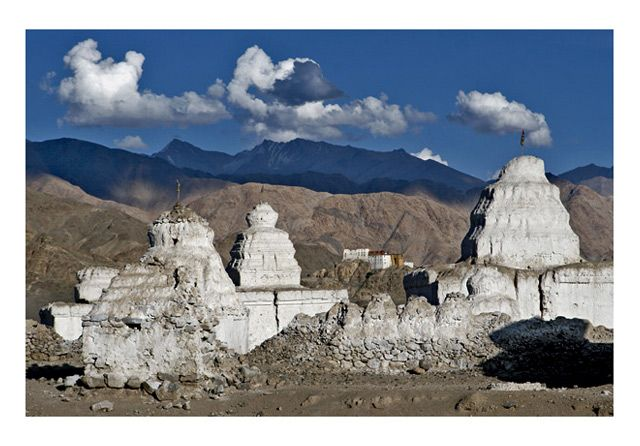Zdjęcia: okolice Leh, Ladakh, Czorteny, INDIE