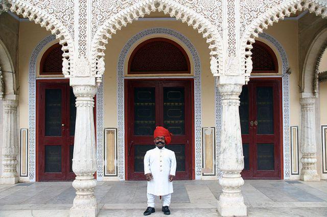 Zdj�cia: JAIPUR Pa�ac Maharad�y,  U Mahard,zy 2, INDIE