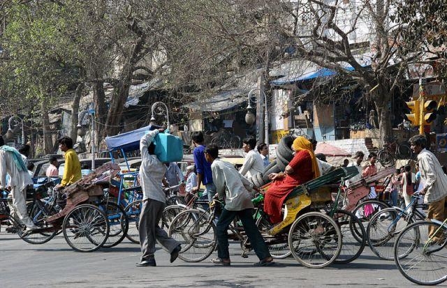 Zdjęcia: OLD DELHI, Korek , INDIE