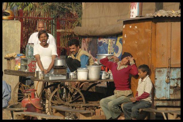 Zdjęcia: Dehli, Bar wolnej obsługi, INDIE