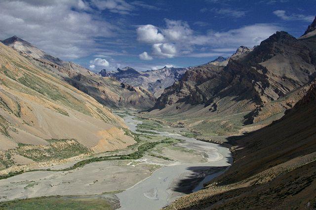Zdjęcia: droga Leh-Nubra, Ladakh, Widoczek, INDIE
