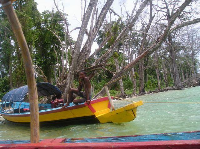 Zdjęcia: Wyspy, ANDAMANY, Elephant Beach na Andamanach  , INDIE