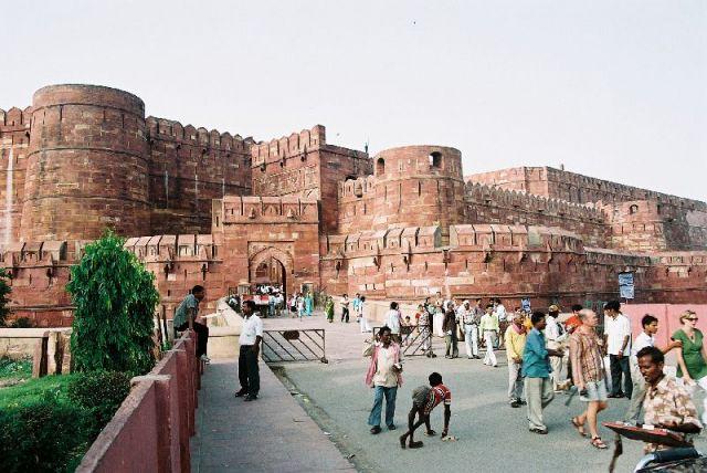Zdjęcia: Agra, Czerwony Fort, INDIE