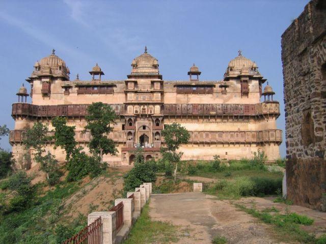 Zdjęcia: Orcha, Pałac Dżahangira, INDIE