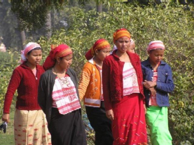 Zdjęcia: zdjecie zrobiono w Delhi, Assam, kobiety Assamu, INDIE