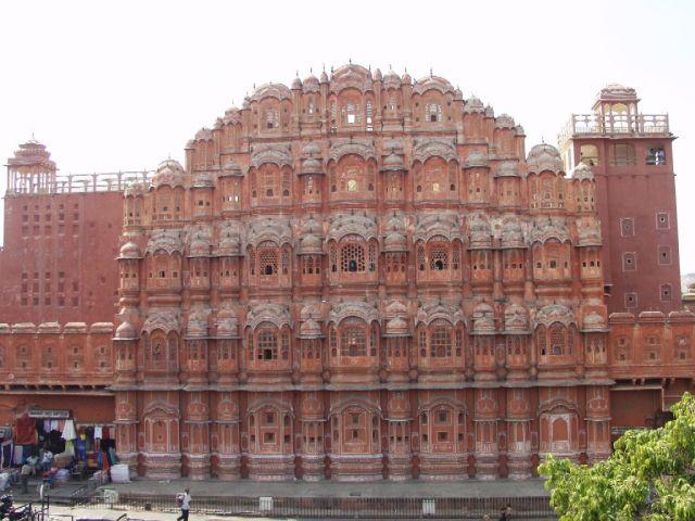 Zdjęcia: Jaipur, Rajastan, Pałac Wichrów - Hava Majal, INDIE