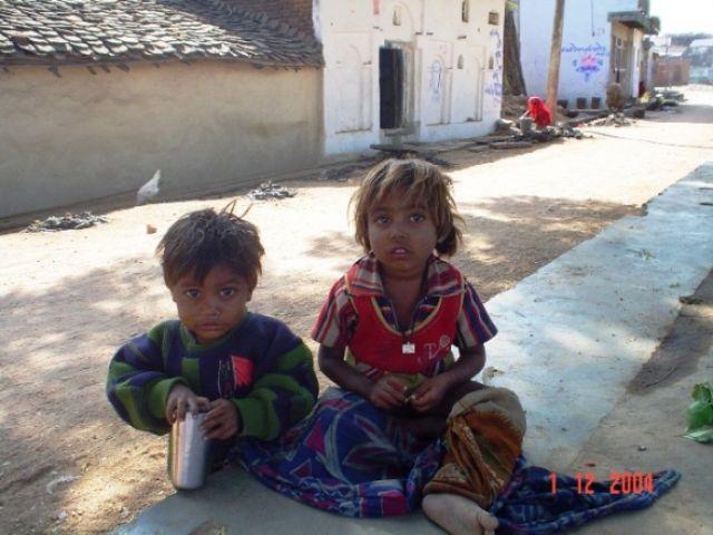 Zdjęcia: okolice  Khajuraho, Madhya Pradesh, INDYJSKIE PORTRETY, INDIE