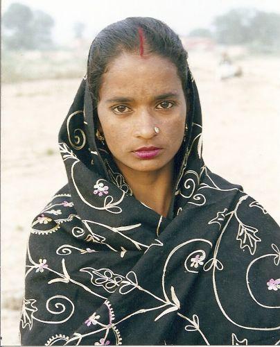 Zdjęcia: pustynia Thar, Rajastan, twarze Indii 1, INDIE