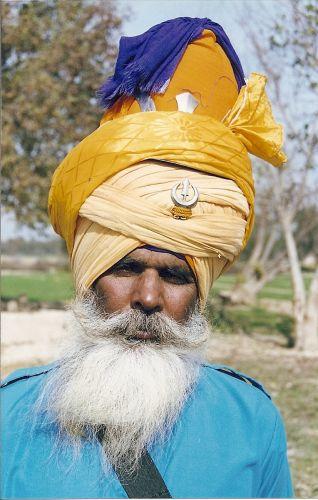 Zdjęcia: pustynia Thar, Rajastan, twarze Indii 4, INDIE
