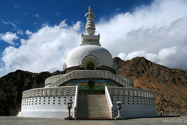 Zdjęcia: Leh, Ladakh, Leh - Stupa, INDIE