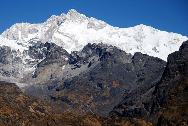 Zdjęcia: rejon Kangdzendzongi, sikkim, Kangdzendzonga – w drodze z Dzongri do Thangshing, INDIE
