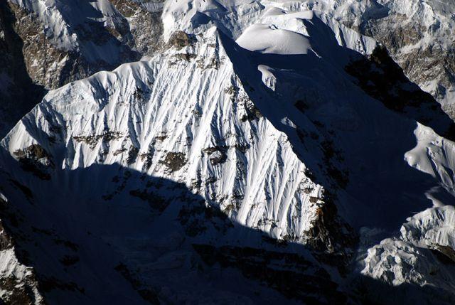 Zdjęcia: rejon Kangdzendzongi, sikkim, Wierzchołek Kabru Forker 6108 m, INDIE