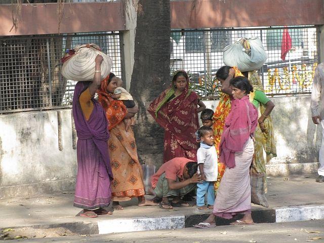 Zdj�cia: Kalkuta, bengal Zachodni, ulice Kalkuty, INDIE