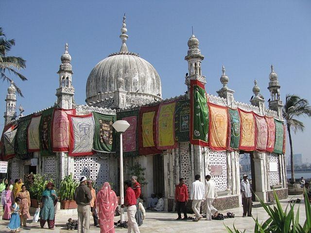 Zdjęcia: Bombaj, Maharastra, mauzoleum Ali Haji, INDIE