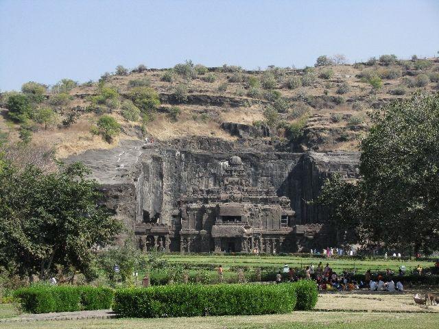 Zdjęcia: Ellora, Maharastra, świątynia Kailasa, INDIE