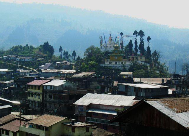 Zdjęcia: trekking Sandakphu, Bengal Zachodni, wioska Manebhanjang - punkt startowy, INDIE