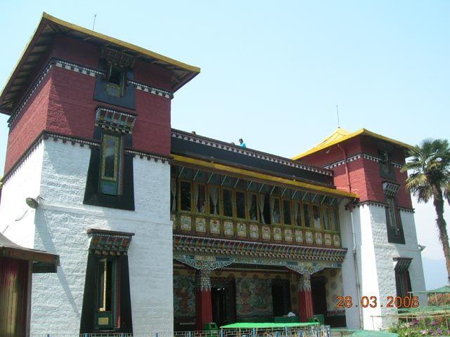 Zdj�cia: Gangtok, Sikkim, Instytut Tybeta�ski, INDIE