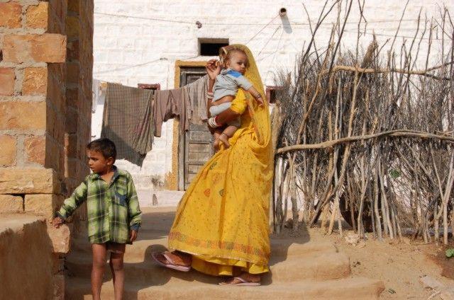 Zdjęcia: Jaisalmer, Wioska na pustyni, INDIE