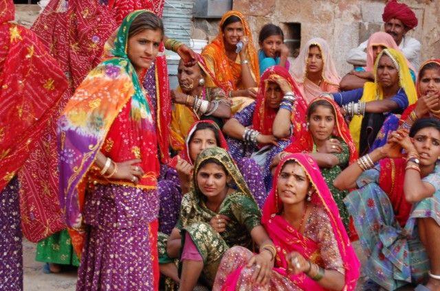 Zdj�cia: Pushkar, Rajasthan, Kobiety z Pushkaru, INDIE