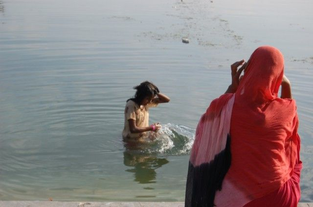 Zdjęcia: Udaipur, Rajasthan, Nad jeziorem, INDIE