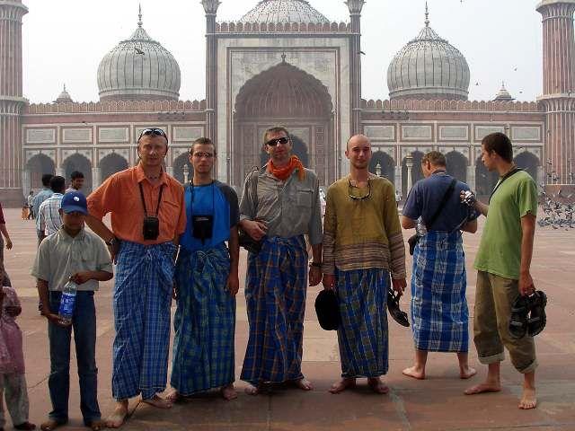 Zdj�cia: Delhi, Indie, Wielki Meczet w Delhi, INDIE