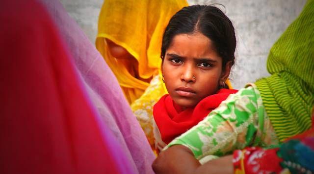 Zdj�cia: Udaipur, dziewczyna, INDIE