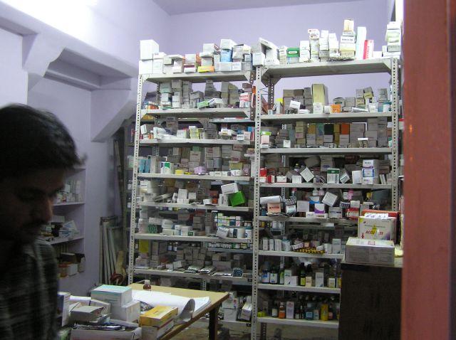 Zdjęcia: Jaisalmer, Rajastan, apteka;), INDIE