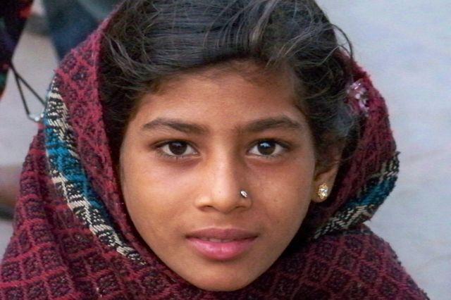 Zdjęcia: Bodhgaya, Bihar, Dziewczynka, INDIE
