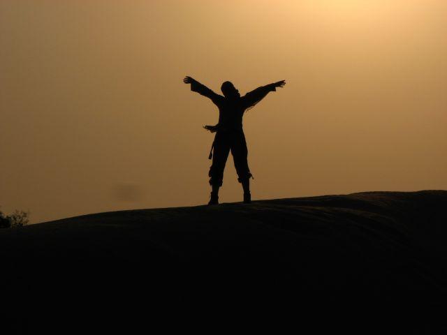 Zdj�cia: pustynia, Rajastan, ...oh, przestrzeni...., INDIE