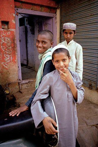 Zdj�cia: Agra, W dzielnicy muzuma�skiej, INDIE