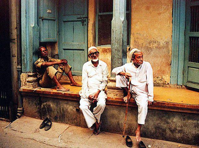 Zdjęcia: Ahmedabad, W muzulmanskiej dzielnicy, INDIE